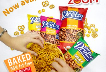 Pretzo Pretzels Are Now Available at ZOOM!