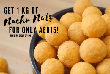 SALE: Nacho Nuts for AED15 per KG